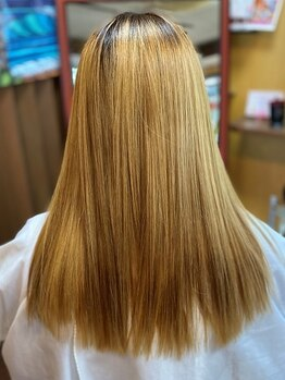 ヘアールーム ラバ(Hair room LABA)の写真/《毛髪改善×輝髪》持続性が高い◎と好評の極上トリートメント使用★詳細はHair room LABAのブログで!!