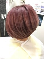 ヘアーグランデシーク(Hair Grande Seeek) Berry pink color♪