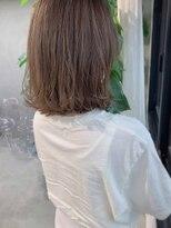 ヴェール(Veil)透明感白髪染め/スモーキーブラウン/ブリーチなし/mio kuwamoto