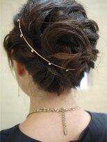 キーナ(Organic Hair KI-NA)レディな編みこみ