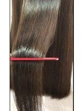 ナチュラルエフ(natural f)サンエンスアクア美髪チャージモイスチャーカラーとカット