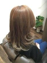 ヘアーデザインスペース リプル(hair design space Ripple)グラデーションカラー