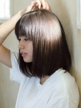 ルーチェ 溝の口(Luce)の写真/【溝の口◆9時~23時】[縮毛矯正¥7000~/ストカール¥12000~]艶髪が叶う縮毛&自然な仕上がりのストカール♪