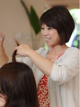 ジェイヘア(j hair)の写真/【阪急塚口駅】女性ならではの視点であなたにあった綺麗&可愛いを提案☆親身なカウンセリングに定評あり!