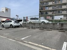 ヌーベル ビューティーサロン(Nouvel BEAUTY SALON)の雰囲気(駐車場はこちら♪白の看板を目印に♪3台完備♪)