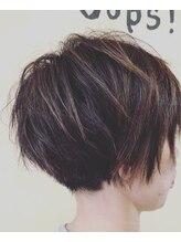 ヘアーメイク ウープス(hair make Oops!)ハンサムショート