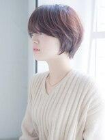 インシ(h&m insi)【insi松永】大人可愛い耳掛けショートボブ