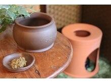 アールイー オーガニック アンド デトックス(RE:)の雰囲気(黄土KAMPOよもぎ蒸し&HOTリンパケアで妊活&美活をサポート♪)