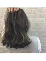 クレーデヘアーズ 相田店(Crede hair's)#ヌーディベージュミディ