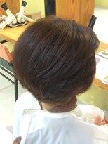 ミセス艶々ヘアマニキュアカラー