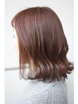 マルカ(marca)【Color Style】オレンジブラウン×サイドインナーハイライト♪