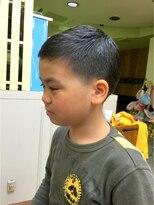 ファシオ ヘア デザイン(faccio hair design)小学生の男の子ベリーショート