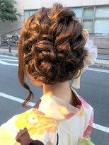 デコヘアー キートス(DECO HAIR kiitos)浴衣の編み込みアレンジ♪