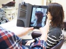 iPadを使ってその場で情報を確認&入力♪最新の「電子カ ル テ」がお客様の「なりたい」ご要望を叶えます♪