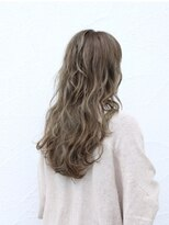 ユニカ ヘアー(UNICA hair)尾道市 グレージュ 人気 UNICANICAハイライトカラー