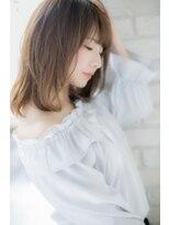 ティッシュ(tissue)キレイ×可愛いセミディスタイル byティッシュ緑区/天白区