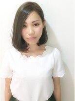 エトネ ヘアーサロン 仙台駅前(eTONe hair salon)【eTONe】大人ワンレンボブ