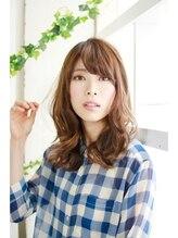 美容室 モンクール 亀戸店(Mon Coeur)ノーブルセミディ~清楚な暗髪美女スタイル