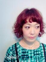 オッヂヘア(oggi hair)カーリーなBoB