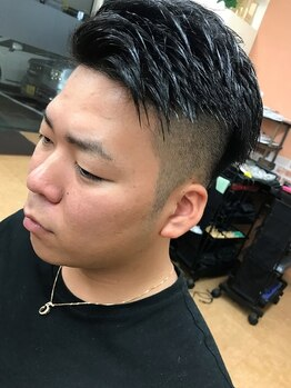 イーズヘアー(Eaze hair)の写真/親しみやすい雰囲気と接客で男性も通いやすいと評判◎ライフスタイルに合わせキメすぎないカッコ良さを提案
