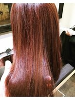 コレット ヘアー 大通(Colette hair)秋色×ヌーディーピンク