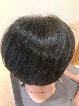 クリーム フォー ヘアー(CREAM For Hair)の写真/「髪の負担が気になる…」そんなお悩みを解決◎髪へのダメージを最小限に抑え、艶のある仕上がりに♪