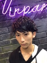 ヘアーシグネチャー(Hair Signature)マッシュベースの2ブロックスタイル