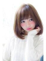 【HONEY表参道】飾らないが可愛い×小顔ミディ(やっちゃん)