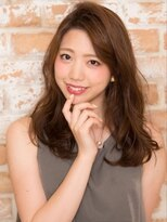 オーブ ヘアー アオヤマ 青山店(AUBE HAIR AOYAMA)女っぽさを即盛れるリッチなロングウェーブ