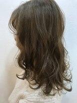 ヘアーアンドメイク ルシア 梅田茶屋町店(hair and make lucia)ヘルシーレイヤー★クリーミーベージュ