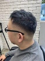 ヘアーメイクミキ 上野本店(hair make MIKI)フェードカット