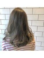 アルマヘアー(Alma hair by murasaki)エドルカラーで綺麗に染まるマットアッシュ