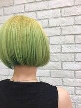 ヘアーガーデン ハッカドウ(hair garden 髪花堂)clear collar gradation^_^
