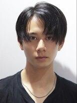 コンフィデンス メンズヘアー(confidence MEN'S HAIR)【マイキー風】さらっとセンターパート