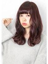 ヘアサロン ガリカ 表参道(hair salon Gallica)☆ ラベンダーグレージュ & 無造作 ☆ひし形シルエットsemi♪