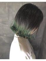 ヘアサロンエム フィス 池袋(HAIR SALON M Fe's)個性派green color