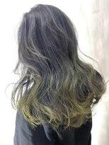 ソース ヘア アトリエ 京橋(Source hair atelier)【SOURCE】イエローグラデーション