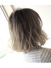 リアン(Lien)【透明感×立体感】フォギーベージュバレイヤージュ