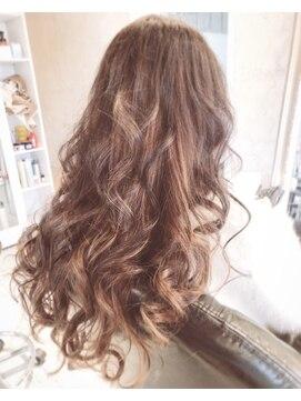 ヘアー アトリエ エゴン(hair atelier EGON)インナーカラー