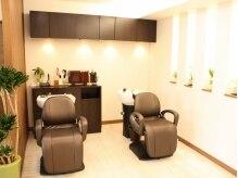 ヘアーサロン ループ(hair salon Loop)の雰囲気(心地よい香りに包まれるマッサージシャンプーは至福の時間!)