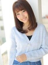 アグ ヘアー プリム 久留米2号店(Agu hair prime)美フォルム☆ワンカールストレート