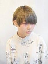 ヘアーエポック(hair epoque)モードショート/ハイトーンアッシュグレイ
