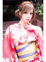 ☆CAPSULE☆ 花火大会+浴衣スタイル+ショートアレンジ