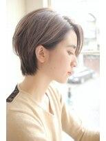 ガーデン ハラジュク(GARDEN harajuku)【Grow】高橋 苗 大人可愛い【小顔ひし形】クラシカルショート
