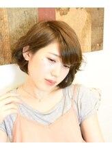 アンシー ヘア デザイン(an-cie hair design+)伸ばしかけの長さ×カラー×パーマ=ヤワフワキュートGIRL♪