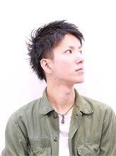 ジングヘア 恵比寿店(zing hair)【zing ebisu】 △ツーブロックヘア△ クール×ウェットショート