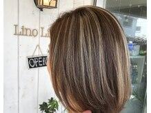 ヘアー リノリノ(hair Lino Lino)の雰囲気(デザインカラーがオススメです♪)
