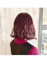 #くすみカラー#ラベージュ#くすみピンク#暖色系カラー#艶カラー