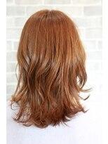 ヘアーメイク プリュム(Hair make Plume)レイヤー×明るめブラウン