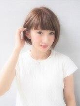 ヘアーサロン ノーヴェトウキョウ(Hair Salon Nove Tokyo)<Nove>3Dイルミナカラー×耳かけ王道大人かわいいボブ